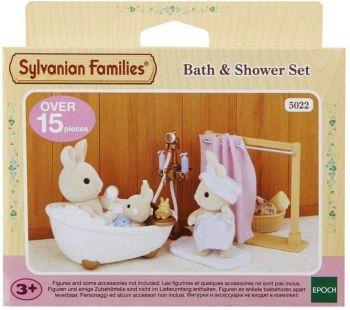 Sylvanian Families Bath & Shower Set 5022