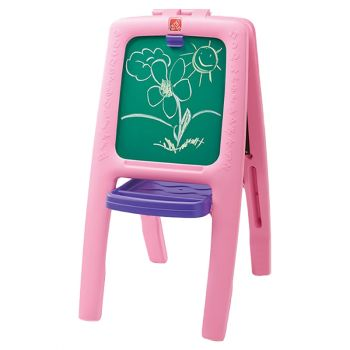 Step2 Easel for Two Learning and Educational Toy Pink - Online in Dubai Abu Dhabi