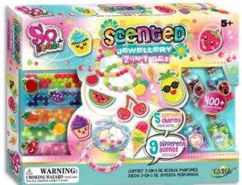 So Beads Scented Jewellery 2-in-1 Set
