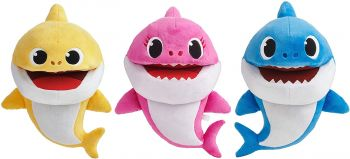 Baby Shark Treasure Chest Finger Puppets Assorted 61237