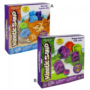 Kinetic Sand Doggy Dino Theme Set Asstorted Online in UAE