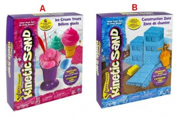 Kinetic Sand Ice Cream Construction Theme Assorted Online in UAE