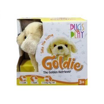 Pugs Play Goldie The Golden Retriever ST-PAP05