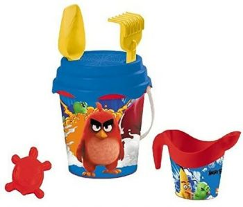 Mondo Deluxe Bucket Set Angry Birds 17cm 18380