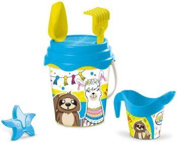Mondo Deluxe Bucket Set Llama & Friends Online in UAE