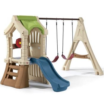 Shop Step2 Play Up Jungle Gym and Kids Swing Set