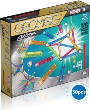 Geomag Glitter Color 30pcs 00531