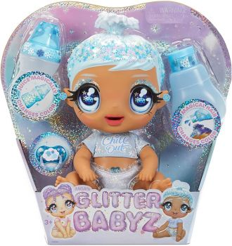 Glitter Babyz January Snowflake Baby Doll MGA-574859