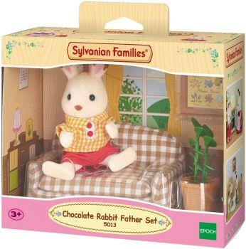 Sylvanian Families Chocolate Rabbit Father Set 5013