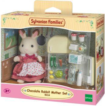Sylvanian Families Chocolate Rabbit Mother Set 5014