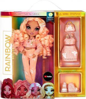 Rainbow High Fashion Doll - Peach Georgia Bloom MGA-575740