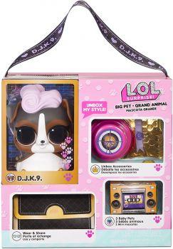 LOL Surprise! Big Pet DJ K.9. with 15 Surprises MGA-577706