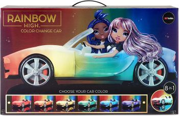 Rainbow High Convertible Colour Change Car Playset MGA-574316
