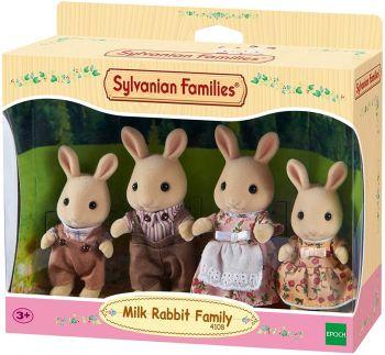 Sylvanian Families Milk Rabbit Family 4108