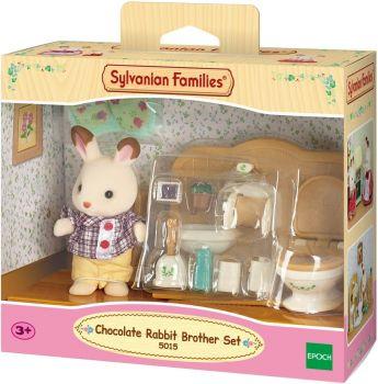 Sylvanian Families Chocolate Rabbit Brother Set 5015