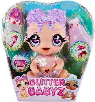 Glitter Babyz Lila Wildboom Doll MGA-574866