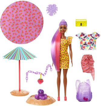 Barbie Ultimate Color Reveal Foam Doll - Strawberry Scent GTR91