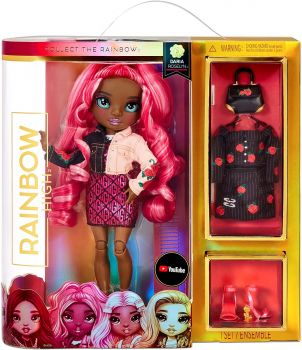 Rainbow High Fashion Doll - Rose Daria Roselyn MGA-575733