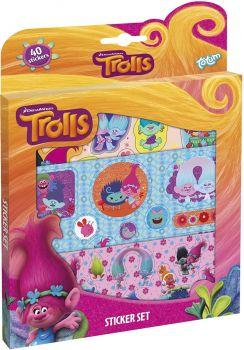 Totum Trolls Sticker set - Color land Toys
