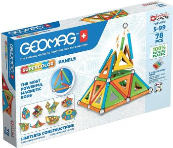 Geomag Magnetic Supercolor Sticks And Balls Building Set 00379
