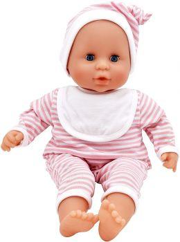 Dolls World Baby Joy Pink Stripe Outfit 15inch 8443G