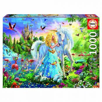 Educa The Princess and the Unicorn 1000pc Jigsaw Puzzle 17654