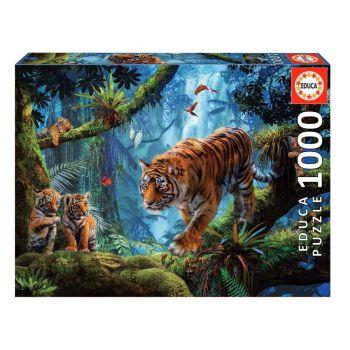 Educa Tigers in the Tree Jigsaw Puzzle 1000pcs 17662
