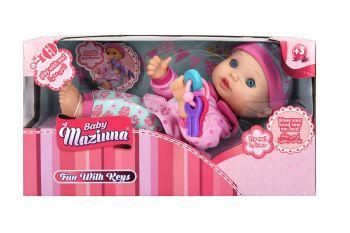 Baby Maziuna Fun with Keys