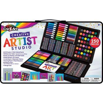 Cra-Z-Art Super Art Set 250 Pieces CA-11010