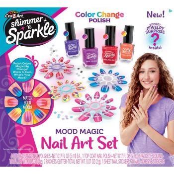 Shimmer N Sparkle Mood Magic Nail Art Set Online in UAE