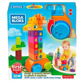 Mega Bloks 123 Counting Giraffe GFG19