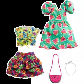 Barbie Fashions Watermelon Print Dress Fashion 2-Pack Online in UAE