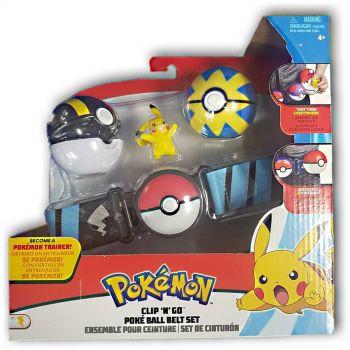 Pokemon Clip N Go Poke Ball Belt Set Blue Online in UAE