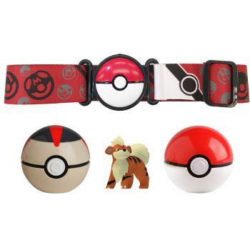 Pokemon Clip N Go Poke Ball Belt Set Red Online in UAE