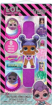 LOL Surprise Nail Set with Jumbo File and Hair Accessories LL0227GA