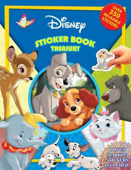 Disney Animals Classics Sticker Book Treasury 2764353154