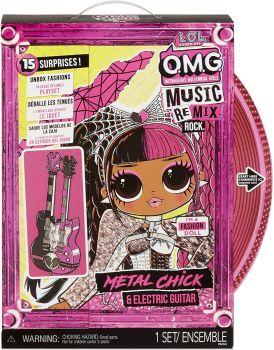 LOL Surprise! OMG Remix Rock Metal Chick Fashion Doll MGA-577577