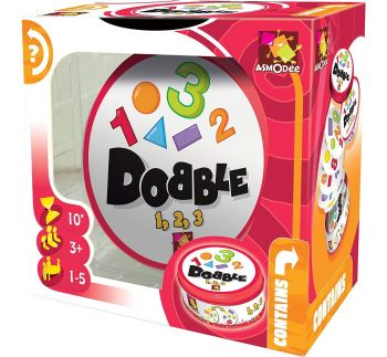 Asmodee Editions Dobble 1 2 3 Card Game