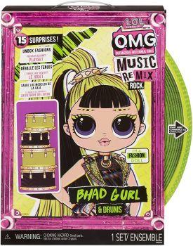 LOL Surprise! OMG Remix Rock Bhad Gurl Fashion Doll MGA-577584