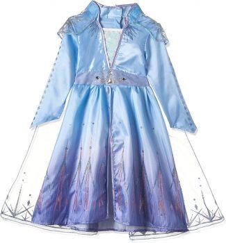 Rubies Disney Frozen II Deluxe Elsa Travel Dress 300491-S