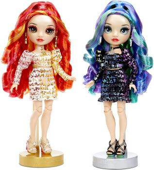 Rainbow High Twins Laurel & Holly Devious Fashion Doll MGA-577553