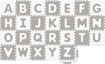 Sunta Antibacterial Alphabet Puzzle Mat 26pcs 911976