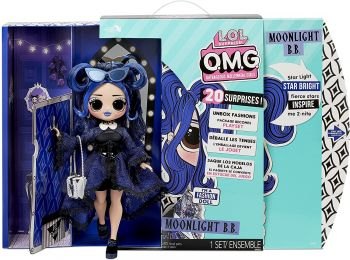 LOL Surprise! OMG Doll Moonlight B.B. with 20 Surprises MGA-572794