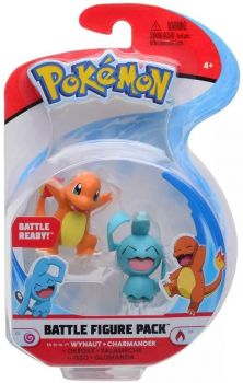 Pokemon Battle Figure Pack - Wynaut vs Charmander PKW0134/95007