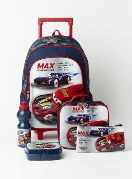 Disney Cars School Set Trolley Bag 18 Inch TRBT20C5N1LC4003