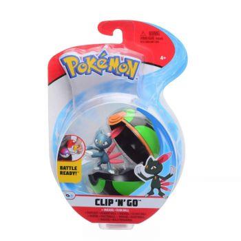Pokemon Clip 'n Go Sneasel & Dusk Ball Figure Set PKW0153