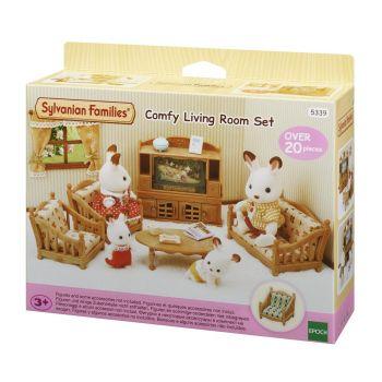 Sylvanian Families Comfy Living Room Set 5339