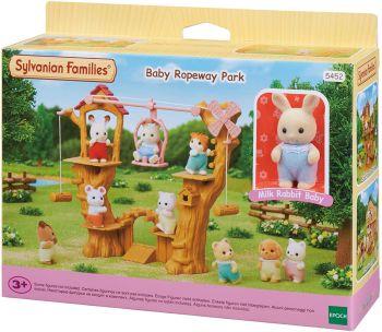 Sylvanian Families Baby Ropeway Park Playset 5452