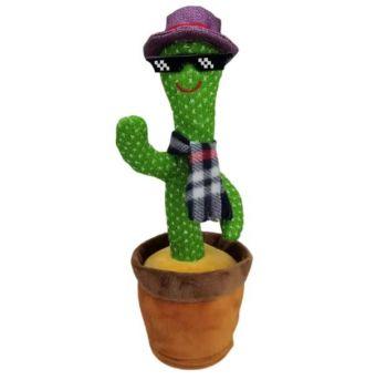 Dancing Cactus Plush Toys Electronic Singing Cactus DC-1
