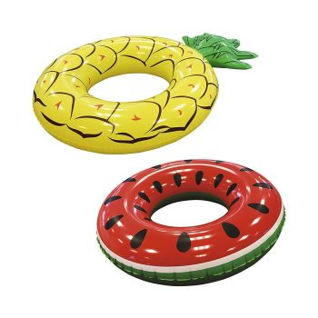 Bestway Inflatable Food Ring Pool Float 52 inch Assorted 36121